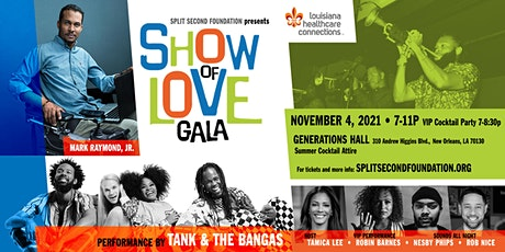 2021 Show of Love Gala tickets