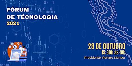 Fórum de Tecnologia 2021 - Sescon-RJ bilhetes