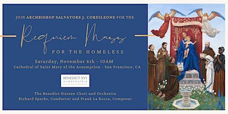 Requiem Mass for the Homeless tickets