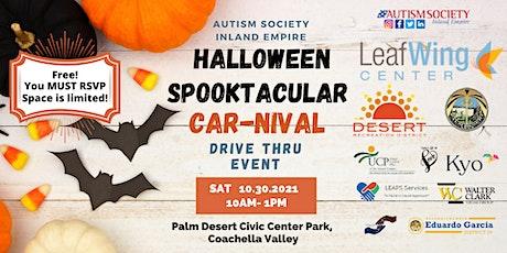 Halloween Spooktacular CAR-nival Drive-thru tickets