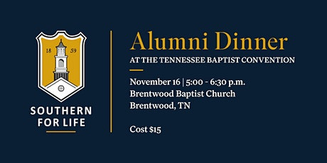 SBTS Alumni & Friends Dinner at the Tennessee Baptist Convention tickets