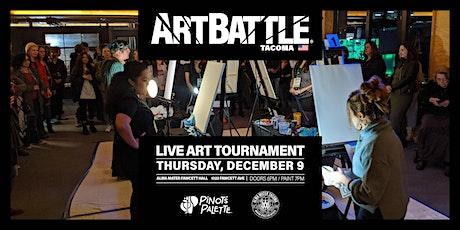 Art Battle Tacoma - December 9, 2021 tickets