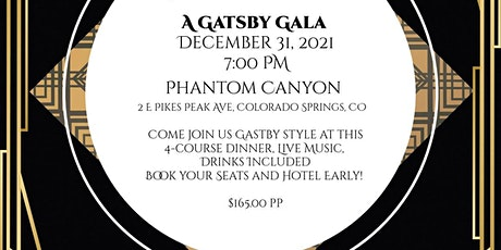 New Years Eve Gatsby Gala tickets