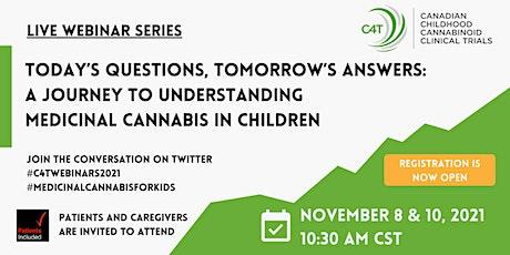 A journey to understanding medicinal cannabis in children tickets