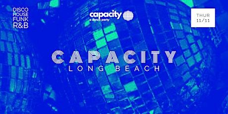 Capacity Dance Party: Long Beach tickets