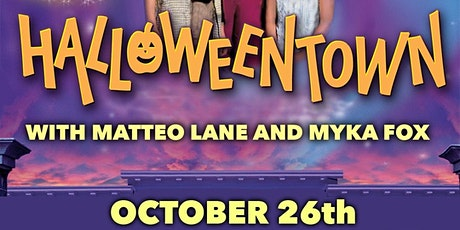 Yelling At Halloween Town with Mateo Lane and Myka fox tickets