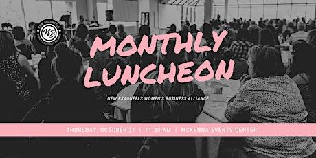 Women's Business Alliance Luncheon - October tickets
