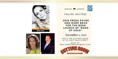 """Join Freda Payne and Mark Bego for the Book Launch of """"Band of Gold"""" tickets"""