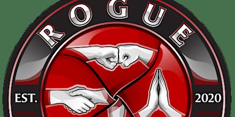 Rogue Academy Halloween open mat and celebration. tickets