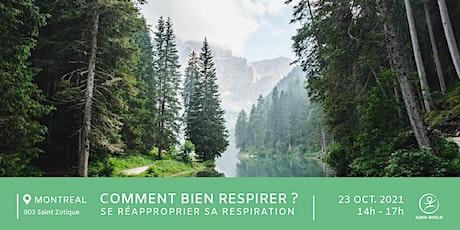 Atelier : comment bien respirer ? billets