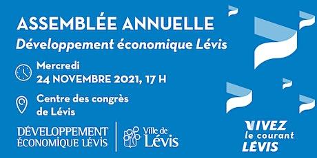Assemblée annuelle 2021 - Développement Économique Lévis (DEL) billets