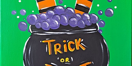 Witches Cauldron Painting at Turn Here Bar and Grill tickets