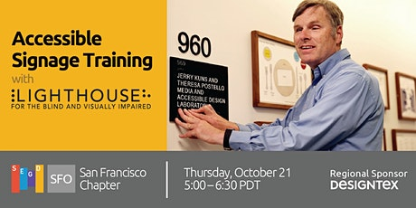 SEGD SF: Accessible Signage Training tickets