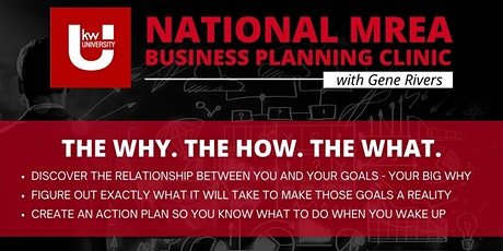 National MREA Business Planning Clinic FREE Streaming at KWRES - DAY 1 tickets