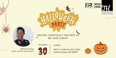 Halloween Client Appreciation Party with a Purpose tickets