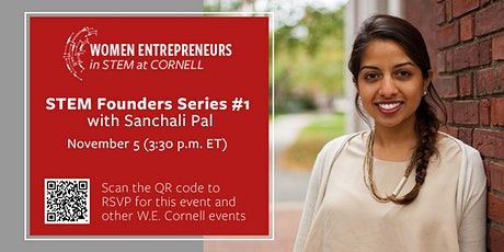 STEM Founders Series #1 with Sanchali Pal tickets