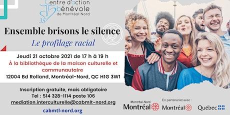 Ensemble brisons le silence  : Profilage racial billets