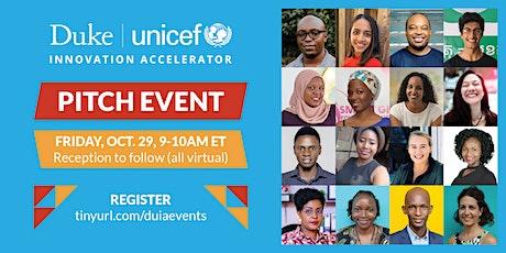 Duke-UNICEF Virtual Forum on Social Innovation Pitch Event tickets