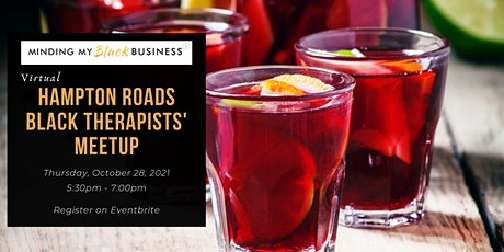 Hampton Roads Virtual Black Therapists Meetup tickets
