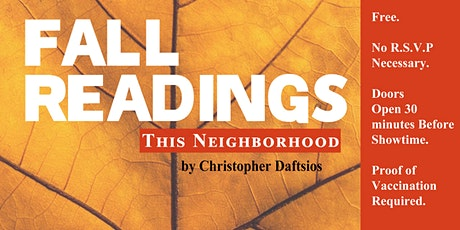 THIS NEIGHBORHOOD  by Christopher Daftsios (Free Play Reading) tickets