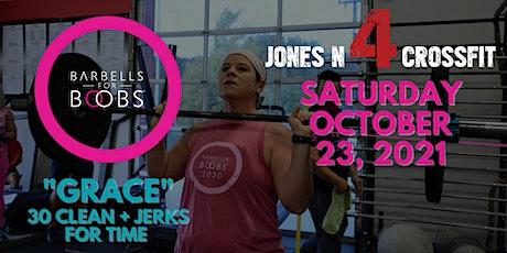 Jones N4 CrossFit & Barbells 4 Boobs 2021 tickets