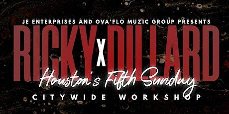 Ricky Dillard X 5th Sunday-Houston tickets