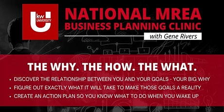 National MREA Business Planning Clinic FREE Streaming at KWRES - DAY 2 tickets