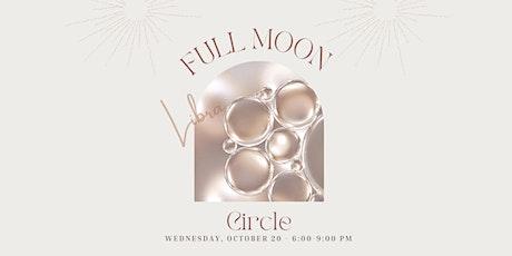 Full Moon Circle- Libra Season tickets