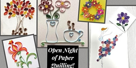 Open Night of Paper Quilling! tickets