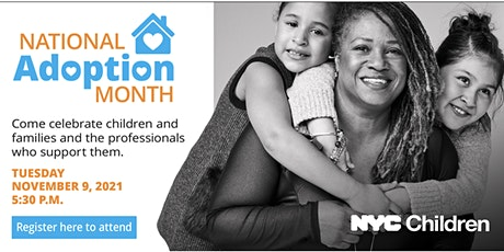 NYC ACS National Adoption Month Virtual Celebration 2021 tickets