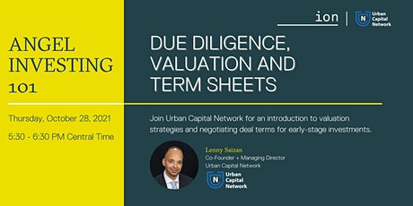 Angel Investing 101: Due Diligence, Valuation and Term Sheets tickets