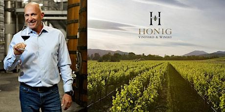 Mollie Stone's FREE Online Wine Tasting: Honig Vineyard & Winery tickets