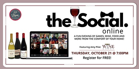 The Social - Online Wine Tasting Tickets