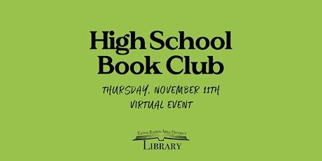 High School Book Club tickets