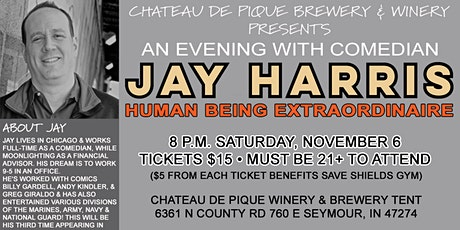 An Evening with Comedian Jay Harris tickets