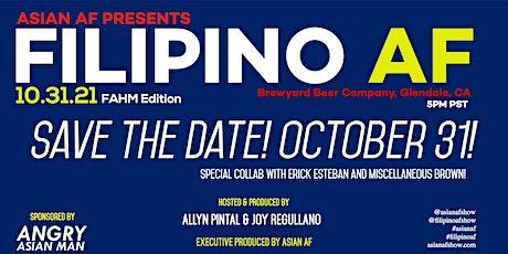 LIVE Filipino AF presents: Halo-Halo-ween @ Brewyard Beer Company tickets