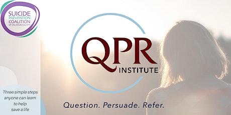 QPR - Suicide Prevention Skills Gatekeeper Training (Virtual) tickets