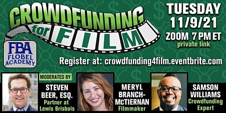 Crowdfunding for Film tickets