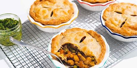 Homemade's Vegan Pesto Pot Pie: FREE Virtual Cooking Class tickets