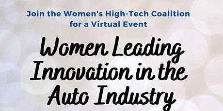 Women Leading Innovation in the Auto Industry tickets