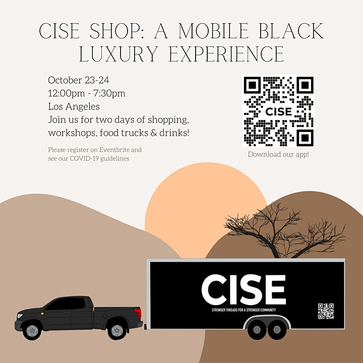 CISE Shop: A Mobile Black Luxury Experience image