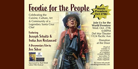Foodie for the People – Movie Premiere tickets