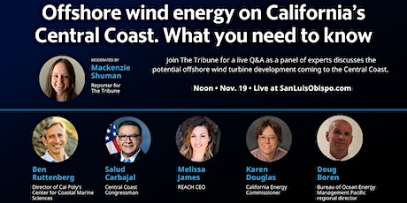 Offshore wind energy on California's Central Coast. What you need to know tickets