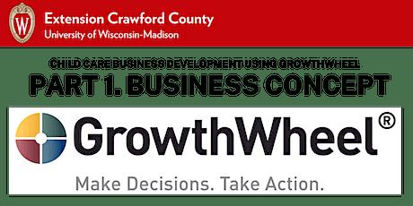 Part 1. Child Care Business Development using GrowthWheel: Business Concept tickets