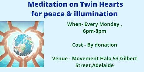Meditation on Twin Hearts for peace & Illumination & Pranic Healing tickets