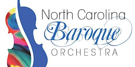 North Carolina Baroque Orchestra Chamber Quartet (Tryon, NC) tickets