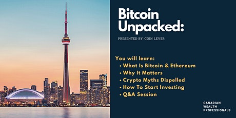 Getting Started With Bitcoin & Crypto - For Beginners tickets