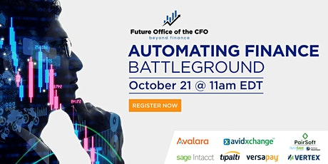 Digital Event - Automating Finance Battleground tickets