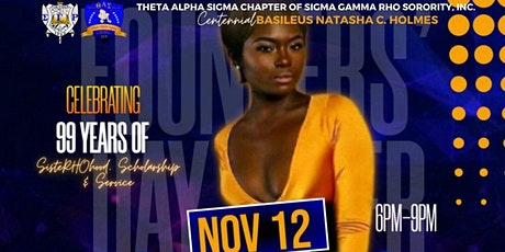 Founders' Day Mixer Celebrating 99 yrs of SisteRHOod, Scholarship & Service tickets