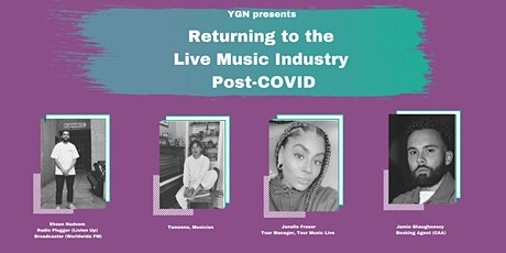 Returning to the Live Music Industry Post-COVID tickets